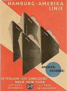 Hamburg+Amerika+Line+POSTER