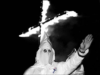Ku+Klux+Klan+cross+burning kkk