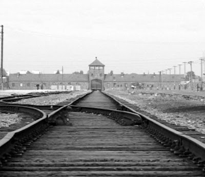 auschwitz-treblinka+concentration+camp+allen+john+foster+dulles++schroeder+bank+train-rail+rairoad+tracks