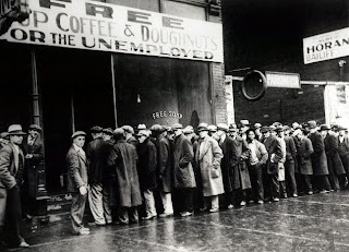 Great Depression Soup Line