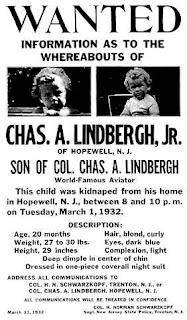 lindbergh+kidnap+baby+wanted+poster