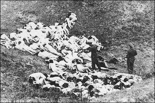concentration camp, skeleton, rockefeller, harriman, bush