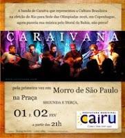 Músicana praça de Morro