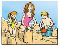 Cuidados na alimentação na praia