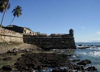 Forte do Morro de sao Paulo