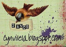 Sorteio no blog da Cyn!!!