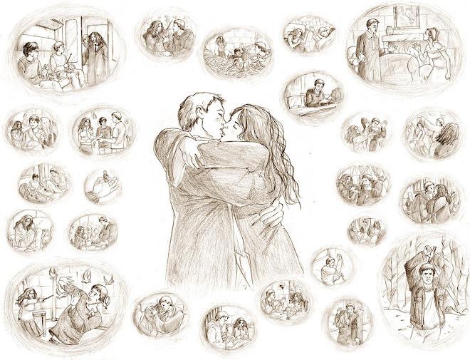 Rony e Hermione - Retrospectiva