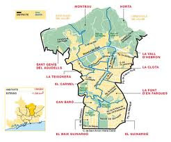Localització del districte
