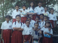 Crianças de um dos orfanatos da AME no Timor Leste