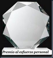 Premio al esfuerzo personal 08