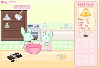 เกมกระต่ายน้อยทำขนม
