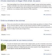 El truco Leer mas en la portada de tu blog en blogger como en El Balcon de Jaime