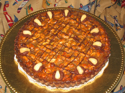This cashew-chocolate tart was incredible, and beautiful. I made this ...