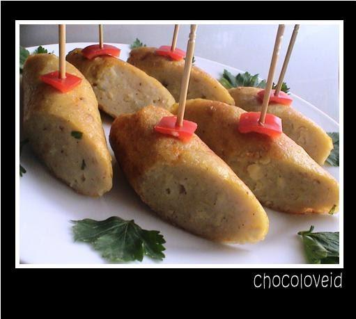 Dapur Kreasiku Nugget Tahu: ICIP-ICIP DI DAPUR: SOSIS TAHU
