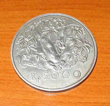 1 Uang Logam 5000 Rupiah