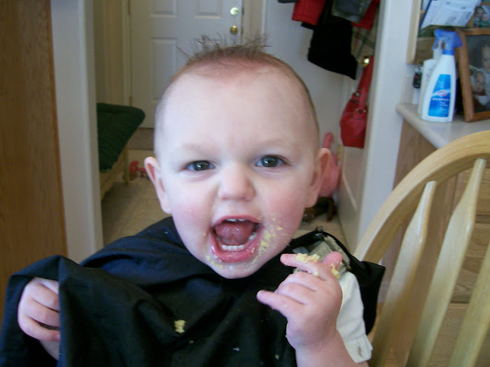 Carter's First Hair Cut