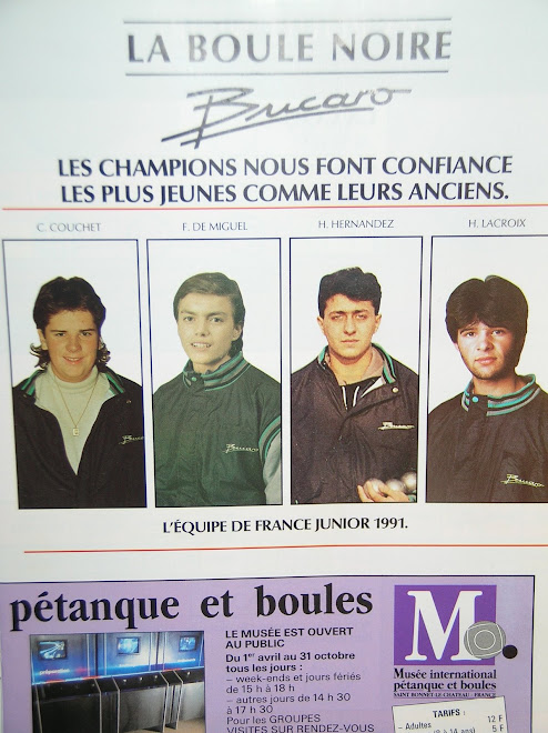 La sélection junior de 1991