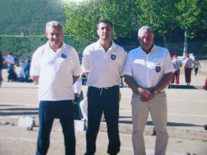 Championnat de france doublette provençal 2004