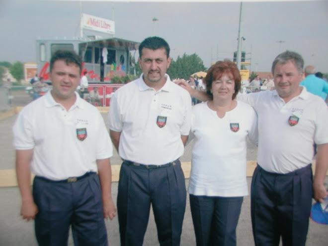 Championnat de france triplette 2001