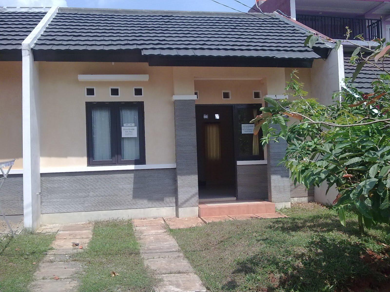 Jual Over Kredit Rumah Taman Melati Sawangan Depok