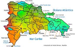 Mapa Rep. Dom