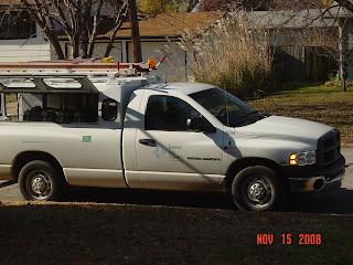 Kansas Gas Service truck