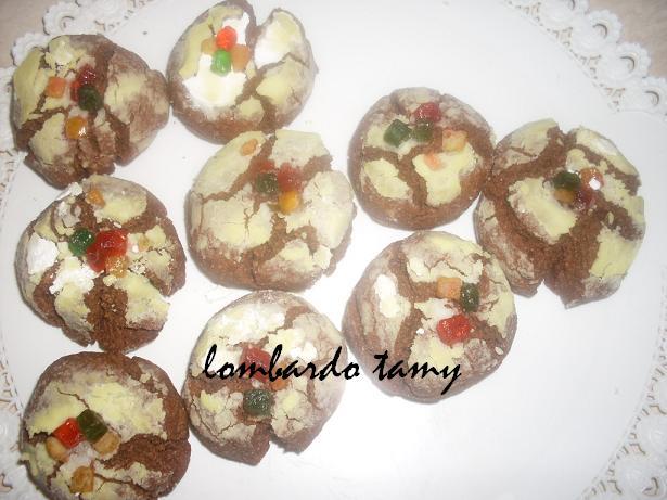 ghrieba au cacao  et noix en poudre  (teste) SDC16949