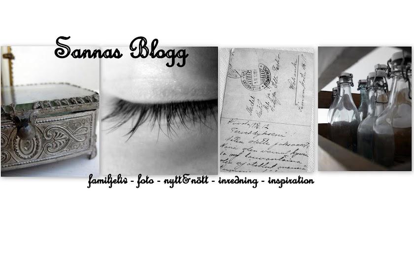 Sannas blogg