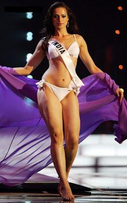 Amrita Thapar indian contest bra panty