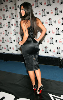 Kim kardashian butts back