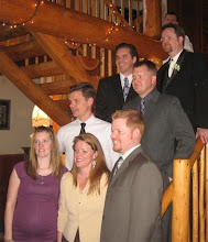 7 of Our Children at Todd's wedding