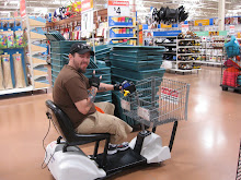 dustin cruising at walmart