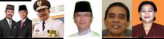 Gubernur -  Wakil Gubernur Sulsel - Sekretaris Daerah - Ka. BKD Sulsel