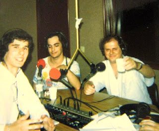 Aquando da estreia nacional de Noites Negras de Azul, Miróbriga, programa Loucuras, 1988