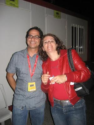 Alberto Castelo e Isabel Vieira