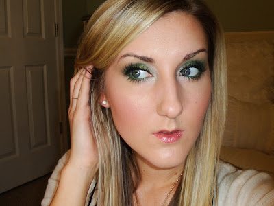 tiffany d makeup. TiffanyD: Holiday Emerald Eyes