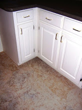 Kitchen floor - Sandstone effect
