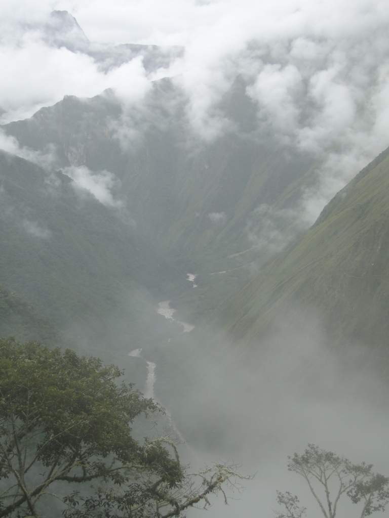 Inca Trail above the clouds