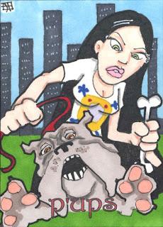 p'ups, pups, bulldog, 5finity