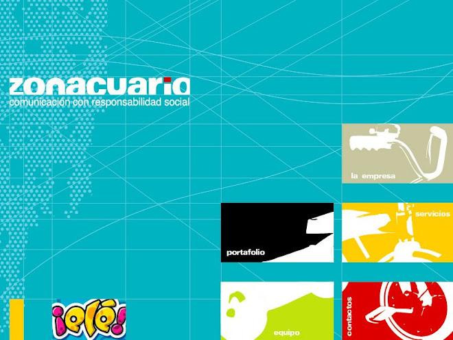 Propuesta Gráfica Web Zonacuario