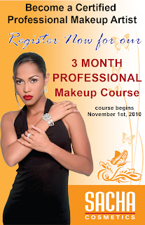 Monroe Misfit Makeup | Beauty Blog: SACHA Cosmetics Review
