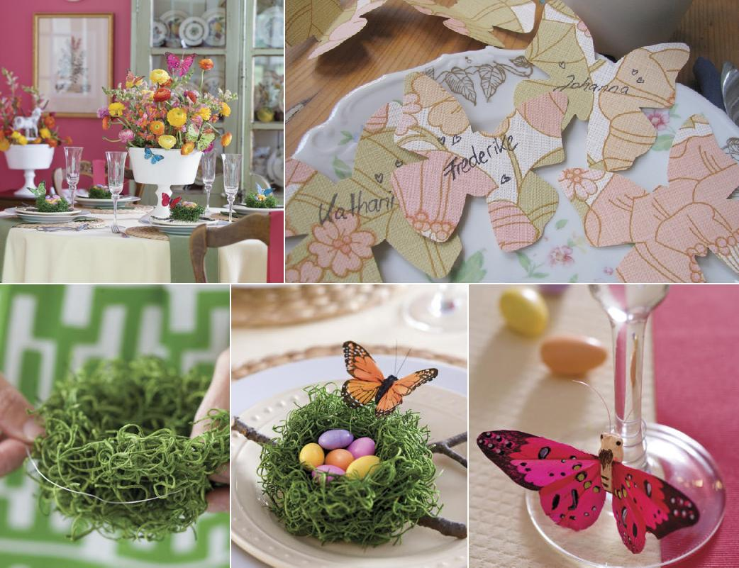 How to make easter table decoration photograph southern li - Table easter decorations ...