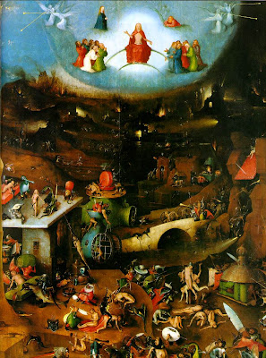 Hieronymus Bosch dutch artist painter artwork paintings boss bocsh Jerome Netherlands Holland triptychs gothic medieval surrealist heronymus hironimus