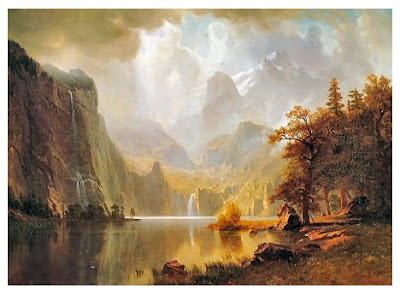 Albert bierstadt Bahamas beirstadt Yosemite bierstad Hudson school germany photos dusseldorf Yellowstone buffaloes pictures Bedford naturalism luminism Luminist painting artist artwork photo images