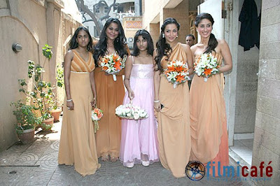 amrita arora shakeel ladakh wedding photos marriage picures images photographs nikaah muslim christian bridesmaids