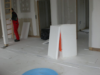Fußboden Estrich ~ Bautagebuch fussboden estrich