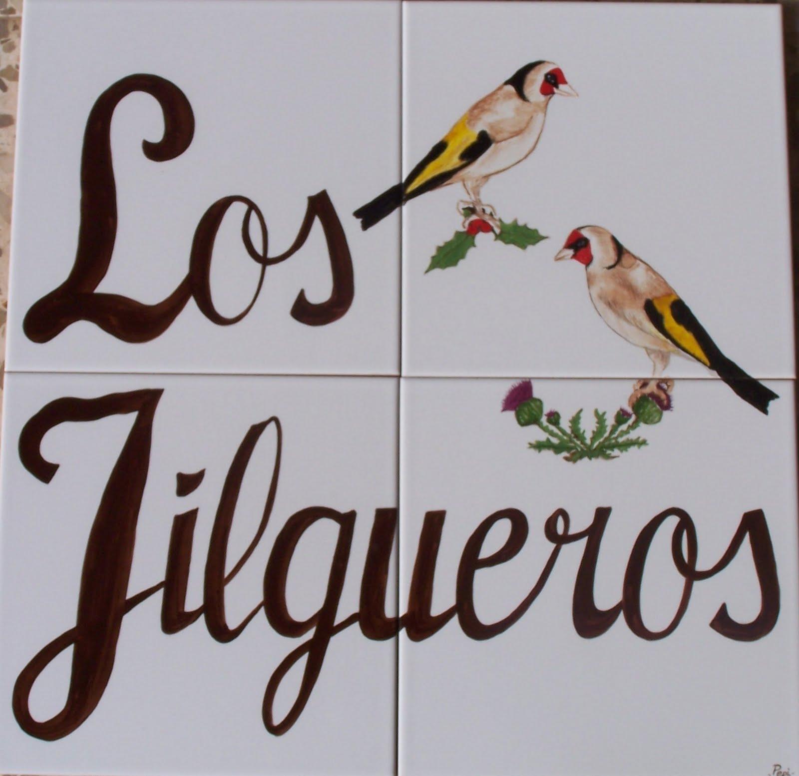 Azulejos La Herradura  Mural Los Jilgueros