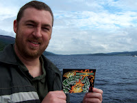 Bart Sears Mael Postcard on Loch Ness