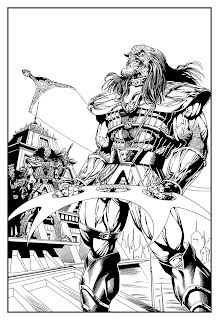 Bart Sears Klingon Pin-Up