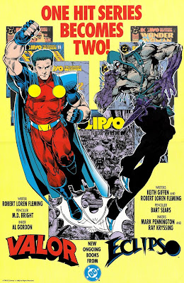 Bart Sears Valor & Eclipso poster